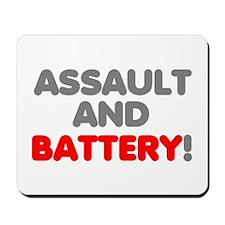 Assault Battery! Mousepad