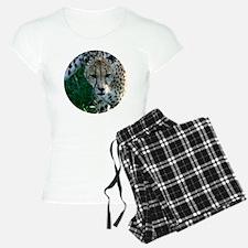 Cheetah Head  Pajamas