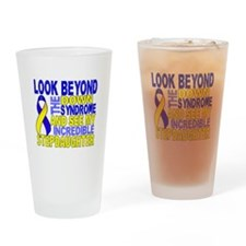 DS Look Beyond 2 Stepdaughter Drinking Glass