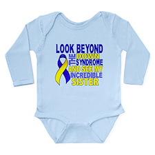 DS Look Beyond 2 Siste Long Sleeve Infant Bodysuit