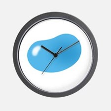 bigger jellybean blue Wall Clock