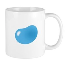 bigger jellybean blue Mugs