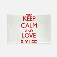 Keep Calm and Love Rylee Magnets