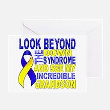 DS Look Beyond 2 Grandson Greeting Card