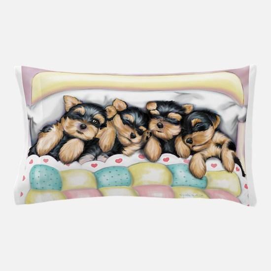 Sleeping Babies Pillow Case
