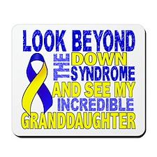 DS Look Beyond 2 Granddaughter Mousepad