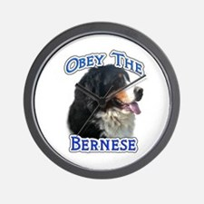 Bernese Obey Wall Clock