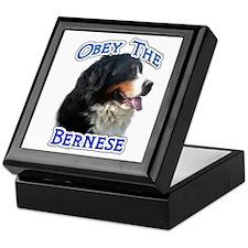 Bernese Obey Keepsake Box