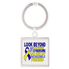 DS Look Beyond 2 Friend Square Keychain