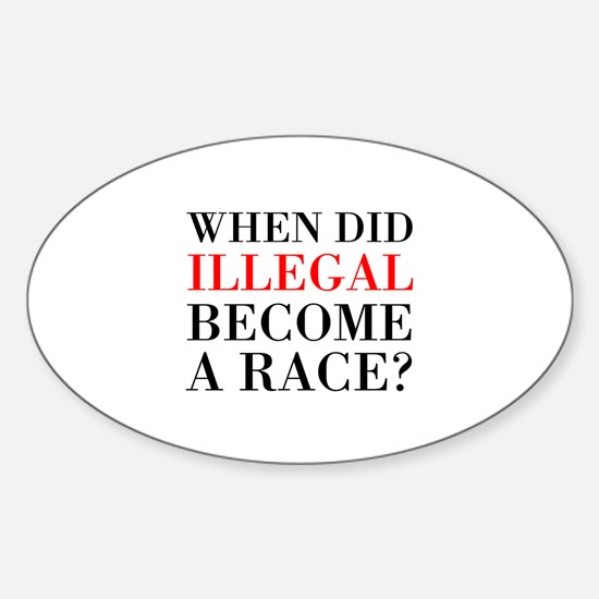 Illegal Race Decal