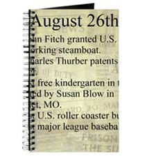 August 26th Journal