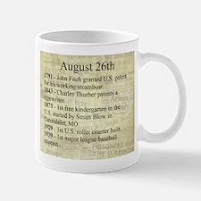 August 26th Mugs