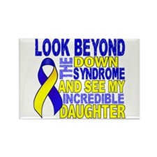 DS Look Beyond 2 Daughter Rectangle Magnet