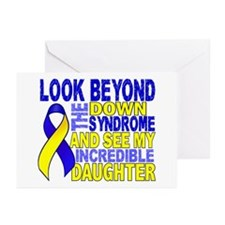 DS Look Beyond 2 Daughte Greeting Cards (Pk of 20)
