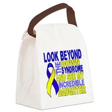 DS Look Beyond 2 Daughter Canvas Lunch Bag
