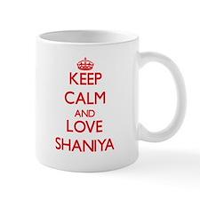 Keep Calm and Love Shaniya Mugs