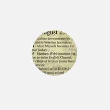 August 25th Mini Button (10 pack)