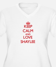 Keep Calm and Love Shaylee Plus Size T-Shirt