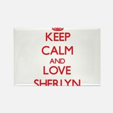 Keep Calm and Love Sherlyn Magnets