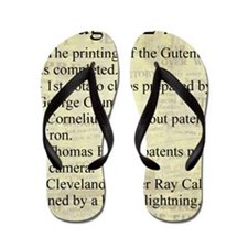 August 24th Flip Flops