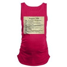 August 24th Maternity Tank Top