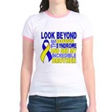 Down syndrome awareness Jr. Ringer T-Shirt