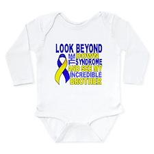 DS Look Beyond 2 Broth Long Sleeve Infant Bodysuit