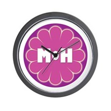 Maid & Matron of Honor Wall Clock