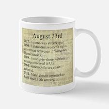 August 23rd Mugs