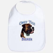 Boxer Obey Bib