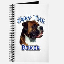 Boxer Obey Journal