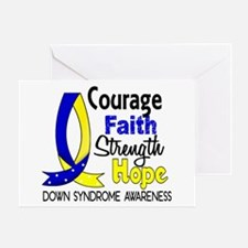 DS Courage Faith 1 Greeting Card