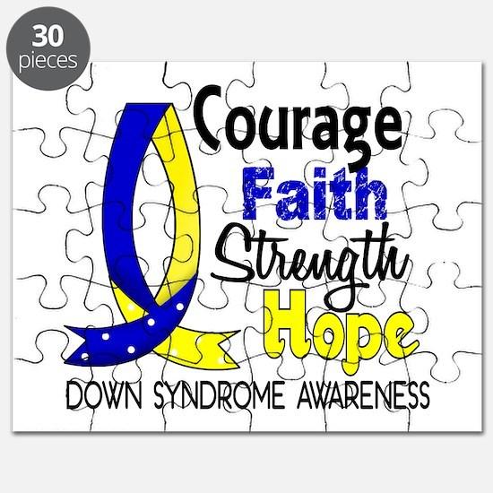 DS Courage Faith 1 Puzzle