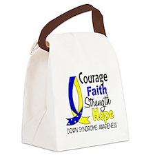 DS Courage Faith 1 Canvas Lunch Bag
