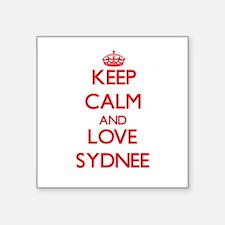 Keep Calm and Love Sydnee Sticker