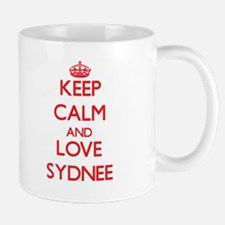Keep Calm and Love Sydnee Mugs
