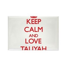 Keep Calm and Love Taliyah Magnets
