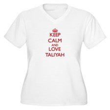 Keep Calm and Love Taliyah Plus Size T-Shirt