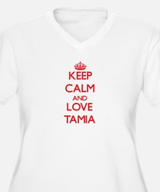 Keep Calm and Love Tamia Plus Size T-Shirt