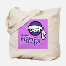 Colitis Ninja Tote Bag