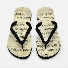 August 22nd Flip Flops