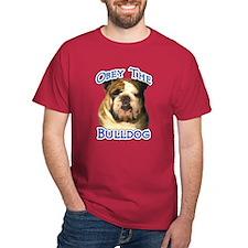 Bulldog Obey T-Shirt