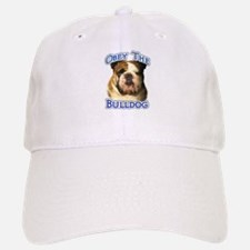 Bulldog Obey Baseball Baseball Cap