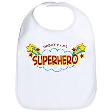 Daddy Superhero Bib