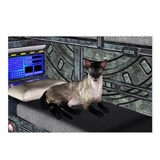 Space Cat Postcards (Package of 8)