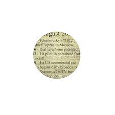 August 20th Mini Button