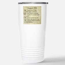 August 20th Travel Mug