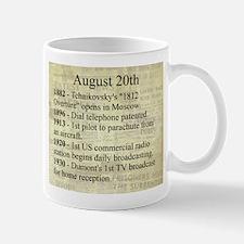 August 20th Mugs
