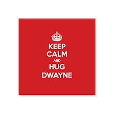 Hug Dwayne Sticker
