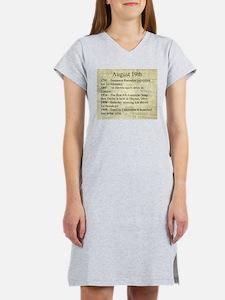 August 19th Women's Nightshirt